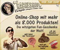 DER RACHESHOP - Online Shopping direkt beim Paten!
