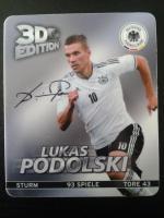 DFB - Sammelkarte 3 D Nr. 6 (Lukas Podolski)