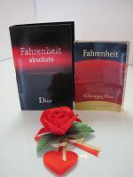 Foto 2 DIOR, FAHRENHEIT, 5 Luxus Parfum Phiolen, For men.