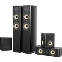 DK Digital LS-400 3-Wege Lautsprecher Set Klavierlack schwarz