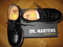 DR. MARTENS Schuhe, 3Loch schwarz, Größe 37 NEU