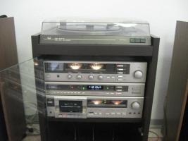 Foto 2 'DUAL - Stereoanlage mit 148 LP's, 24 Singles, 195 MC's