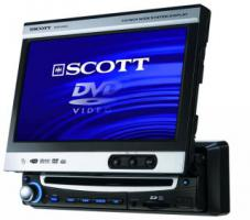 DVD-Autoradio SCOTT ''DRX 950'', mit 7'' Display, USB + Card Slot
