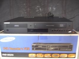 DVD Video Kombi Recorder/ Player von Samsung