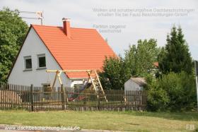 Dachbeschichtung Fautz Dachbeschichtung ziegelrot.