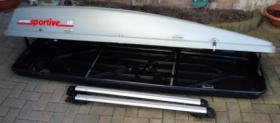 Dachbox mit Reling-Grundträger