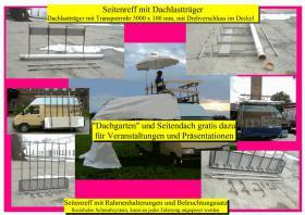 Dachlastträger und Seitenlastträger / Seitenreff für Transporter