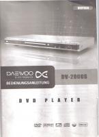 Foto 6 Daewoo DV 2000 S DVD-Player (DivX-zertifiziert) silber