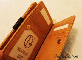 Foto 4 Damen Geldbörse von Giulia Pieralli in Braun Damen Portemonnaie Geldbeutel