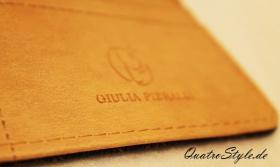 Foto 4 Damen Geldbörse von Giulia Pieralli in Braun Designer Portemonnaie Geldbörse