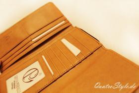 Foto 5 Damen Geldbörse von Giulia Pieralli in Braun Designer Portemonnaie Geldbörse