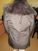Foto 2 Damen Jacke  mit  Pelz kragen