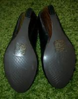 Foto 4 Damen Keilabsatz Schuhe Pumps Schwarz High Heels 37