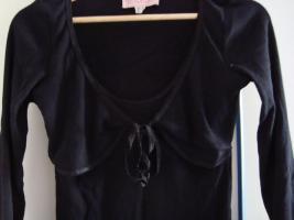 Foto 2 Damen-Langarmshirt, Twinset, schwarz, Größe 36