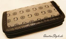Foto 2 Damen Portemonnaie Gamaya in Grau mit umlaufendem Reißverschluss
