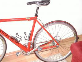 Damen Rennrad rot & neuwertig