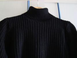 Foto 2 Damen-Rollkragenpullover, Größe M, schwarz