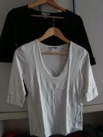 Foto 4 Damen-Shirt, 2Stück, schwarz, weiß, Größe 36