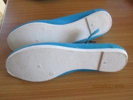 Foto 4 Damen Slipper Ballerinas Schuhe neu Größe 38 ungetragen Beegim shoes