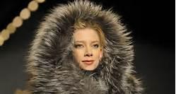 Damen Winter Pelzjacke