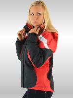 Damen - Funktionsjacke 2in1 -schwarz/rot-