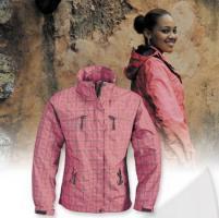 Damenjacke fuer die Freizeit und Beruf farbig pink