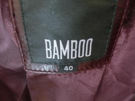 Damenlederjacke von Bamboo