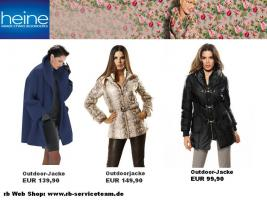 Damenmode / Lederjacken  /  Cape / Outdoorjacke / Mantel / Strickjacken