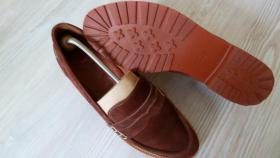 Damenschuhe  Gr. 41  ( Slipper ) Wildleder, Braun