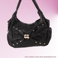 Damentasche mit extra großer Schleife, Handtasche