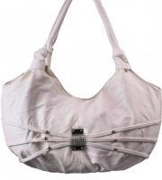 Damentasche, Schultertasche schön, weiß
