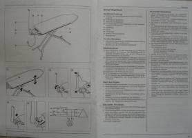 Foto 3 Dampf-B�geltisch u. Dampf-B�geleisen von K�rcher