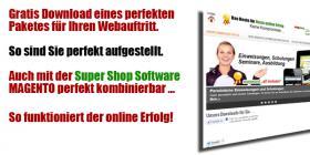 Das hervorragende Programm für Ihren online Shop. Für online Erfolg. Gratis herunterladen.