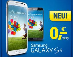 Foto 2 Das neue Flaggschiff Samsung Galaxy S 4 ab 0, - €