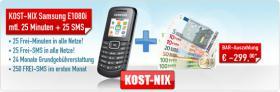 Deal bei schottenpenny:Kostet NIX Samsung E1080i & 299, -€ für Deal oder Schnäppchenjäger