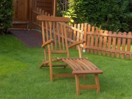 Deckchair / Gartenliege Teak