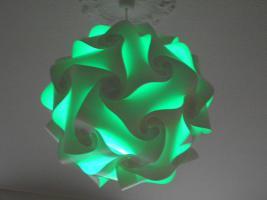 Foto 2 Deckenlampe Hängelampe H/B 55cm inkl.LED Farbwechsler m.IR Fernbedienung 30A/XXL Hängelampe Deckenlampe H/B 55cm inkl.LED Farbwechsler m.IR Fernbedienung 30A/XXL
