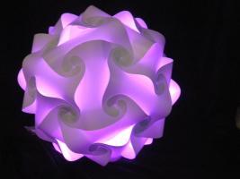Foto 4 Deckenlampe Hängelampe H/B 55cm inkl.LED Farbwechsler m.IR Fernbedienung 30A/XXL Hängelampe Deckenlampe H/B 55cm inkl.LED Farbwechsler m.IR Fernbedienung 30A/XXL