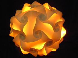 Foto 5 Deckenlampe Hängelampe H/B 55cm inkl.LED Farbwechsler m.IR Fernbedienung 30A/XXL Hängelampe Deckenlampe H/B 55cm inkl.LED Farbwechsler m.IR Fernbedienung 30A/XXL