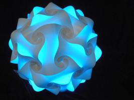 Foto 7 Deckenlampe Hängelampe H/B 55cm inkl.LED Farbwechsler m.IR Fernbedienung 30A/XXL Hängelampe Deckenlampe H/B 55cm inkl.LED Farbwechsler m.IR Fernbedienung 30A/XXL