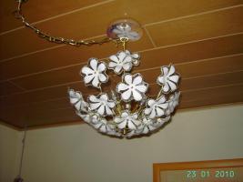 Deckenlampe Messing poliert und weitere Schnäppchen