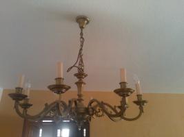 Foto 2 Deckenleuter mit zwei wandleuchten