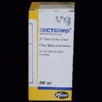 Dectomax Injection 200ml. Entwurmer f�r nicht laktierenden Rindern, Schafen und Schweinen!