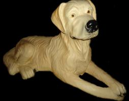 Deko Hund Golden Retriever