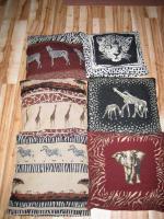 Deko Kissen mit Afrika Motiv