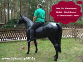 Deko Pferd als Blickfang für Ihre  Werbung in Ihren Horseshop