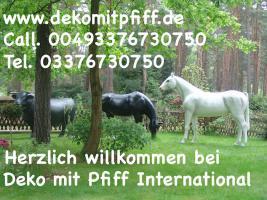 Foto 6 Deko Pferde / Horses - oder Deko Kühe ...