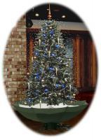 Deko Weihnachtsbaum 175 cm inkl Schnee und zubehör NEU