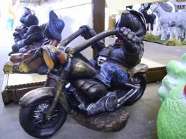Dekofigur für Biker