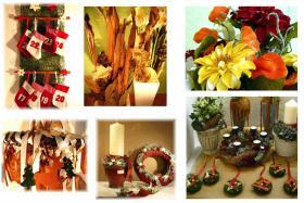 Dekorationsartikel und Floristikbedarf wegen Gewerbeauflösung günstig abzugeben